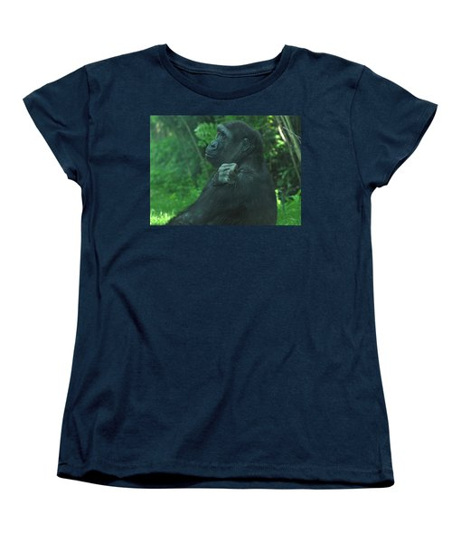 Women's T-Shirt (Standard Cut) featuring the photograph Lost In Thought by Richard Bryce and Family