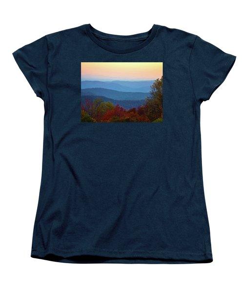 Lost On The Blueridge Women's T-Shirt (Standard Cut) by B Wayne Mullins