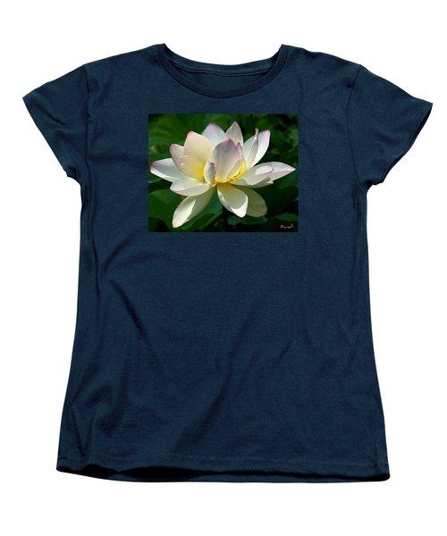 Lotus Beauty--disheveled Dl061 Women's T-Shirt (Standard Cut) by Gerry Gantt