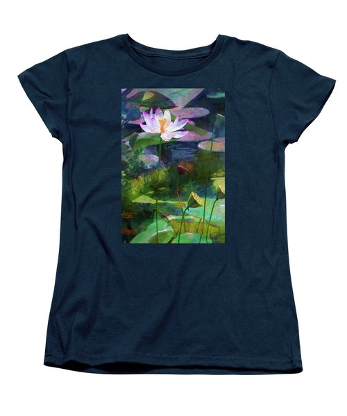 Lotus Women's T-Shirt (Standard Cut) by John Rivera