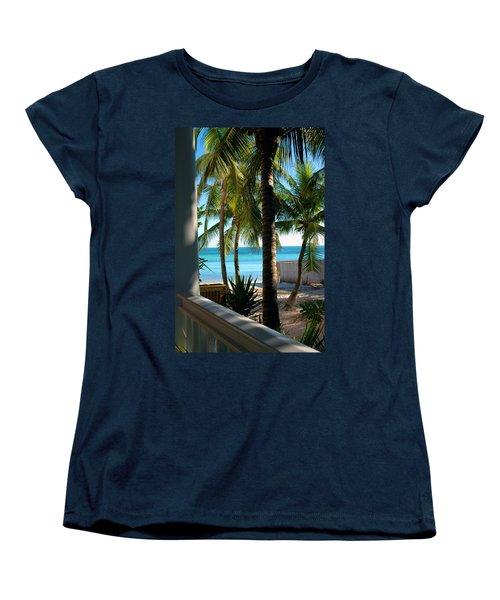 Louie's Backyard Women's T-Shirt (Standard Cut)
