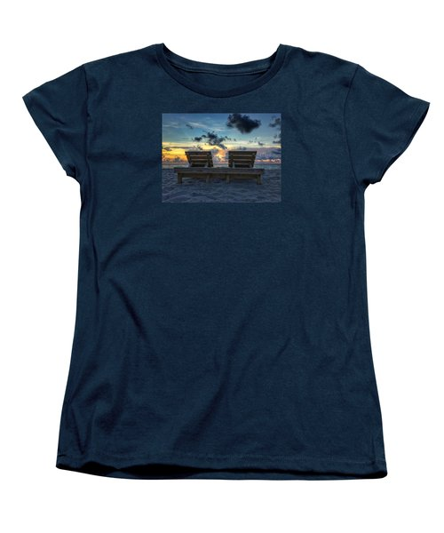 Lounge For Two Women's T-Shirt (Standard Cut)