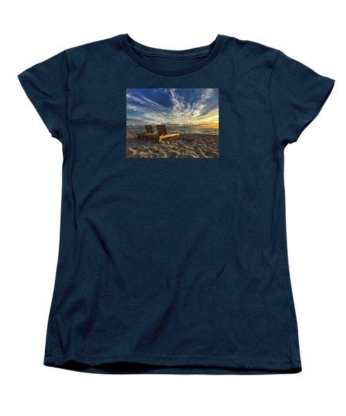 Lounging For 2 Women's T-Shirt (Standard Cut)
