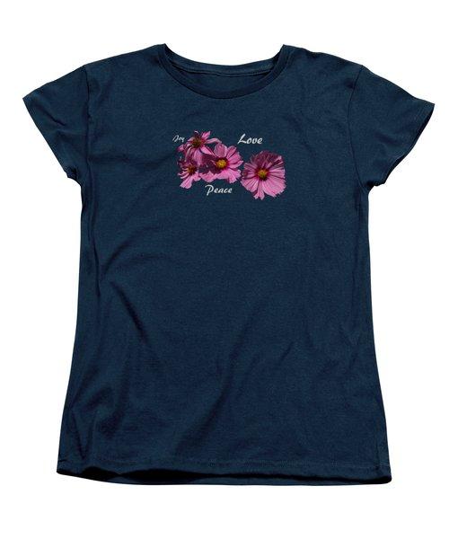 Love Women's T-Shirt (Standard Cut) by David and Lynn Keller