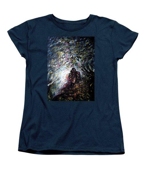 Love In Niagara Fall Women's T-Shirt (Standard Cut)