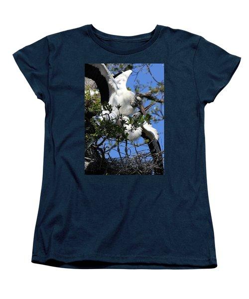 Love Is In The Air Women's T-Shirt (Standard Cut) by Lamarre Labadie