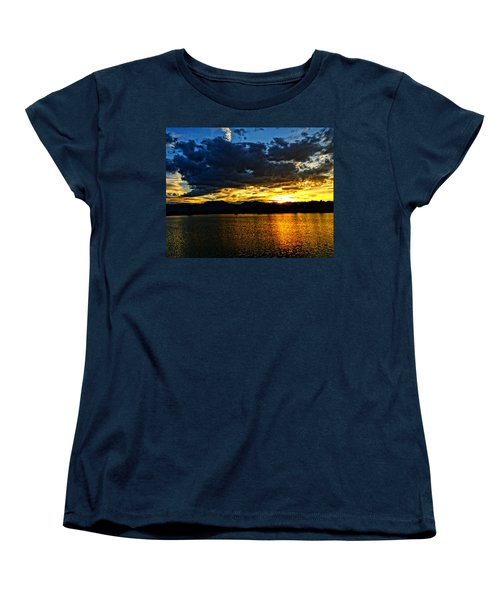 Women's T-Shirt (Standard Cut) featuring the photograph Love Lake by Eric Dee