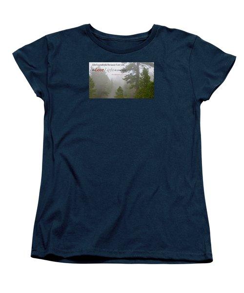 Love Light Women's T-Shirt (Standard Cut) by David Norman