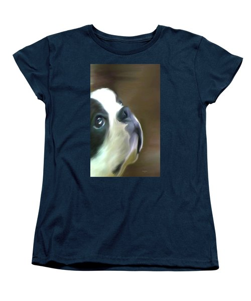 Love Of A Boston Women's T-Shirt (Standard Cut) by Maria Urso