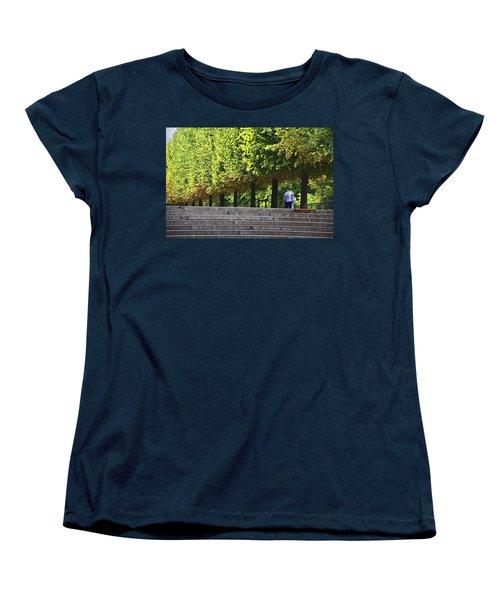Lovers In The Tuileries Women's T-Shirt (Standard Cut) by John Hansen
