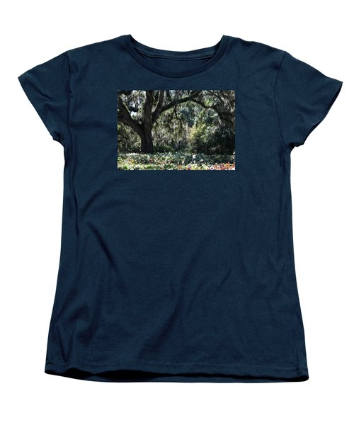 Women's T-Shirt (Standard Cut) featuring the photograph Low Country Series II by Suzanne Gaff