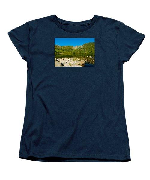 Lower Bells Canyon Reservoir Women's T-Shirt (Standard Cut) by Dan Miller