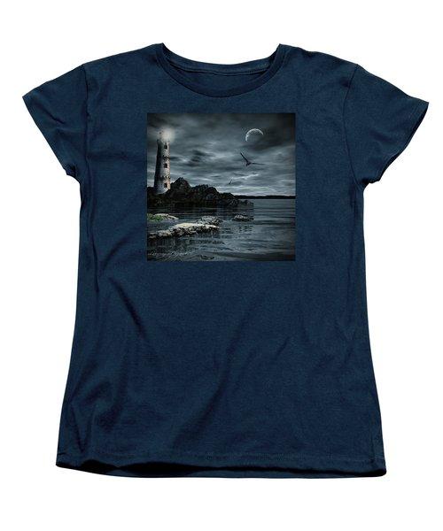 Lucent Dimness Women's T-Shirt (Standard Cut) by Lourry Legarde
