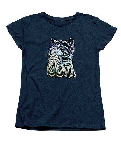 Lunch Time. Women's T-Shirt (Standard Cut) by Andrzej Szczerski