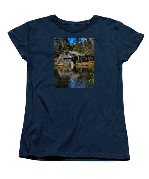 Mabry Mill  Women's T-Shirt (Standard Cut) by Steve Hurt