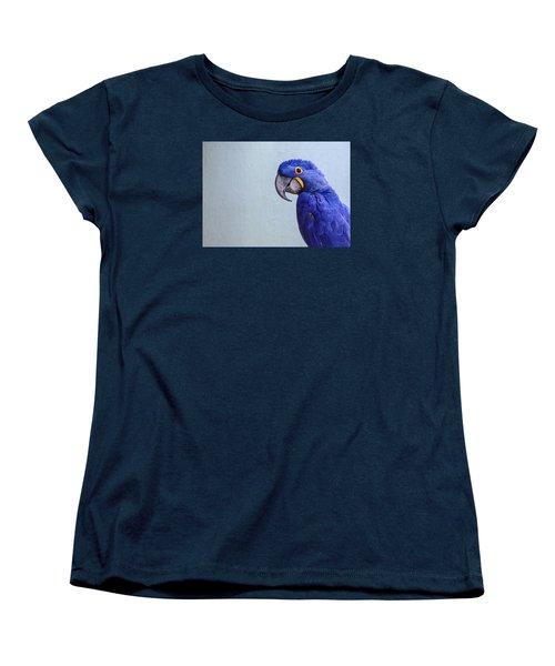 Macaw Women's T-Shirt (Standard Cut) by Daniel Precht