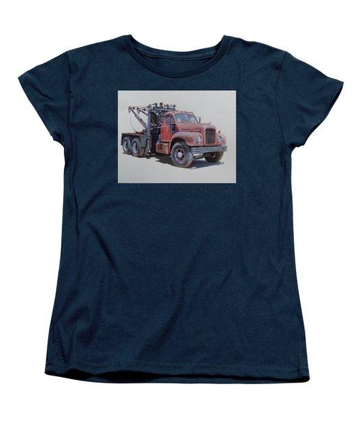 Mack Wrecker. Women's T-Shirt (Standard Cut) by Mike  Jeffries