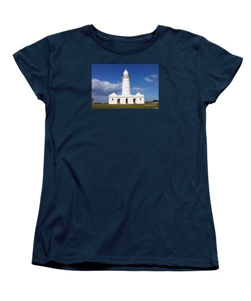 Macquarie Light House Women's T-Shirt (Standard Cut) by Bev Conover