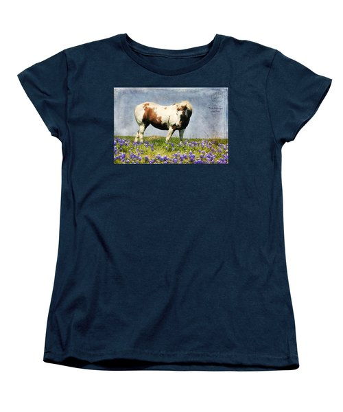 Made With Love From Texas Women's T-Shirt (Standard Cut) by Joan Bertucci
