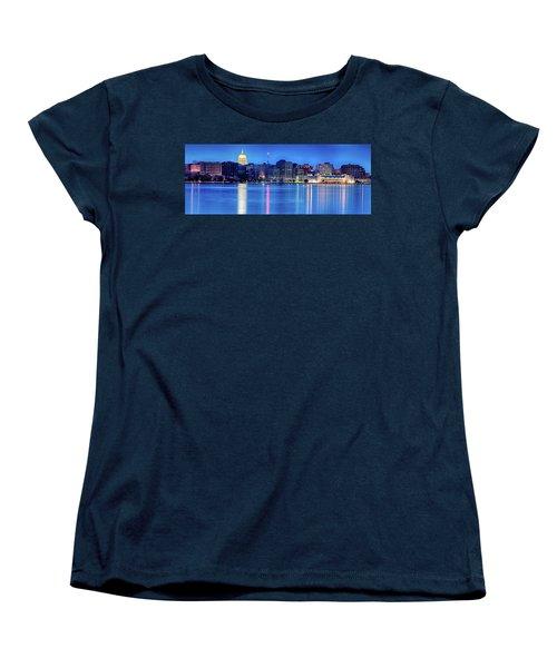 Madison Skyline Reflection Women's T-Shirt (Standard Cut)