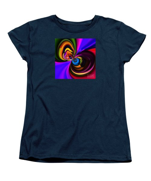Magic Abstract Women's T-Shirt (Standard Cut) by Elaine Hunter
