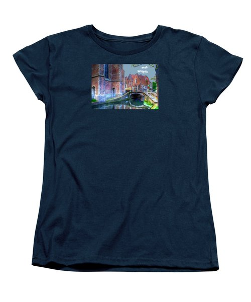 Magical Delft Women's T-Shirt (Standard Cut) by Uri Baruch