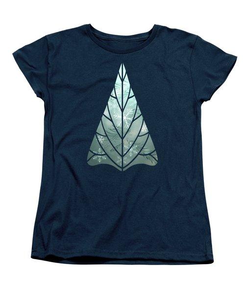 Magical Snow Women's T-Shirt (Standard Cut) by AugenWerk Susann Serfezi