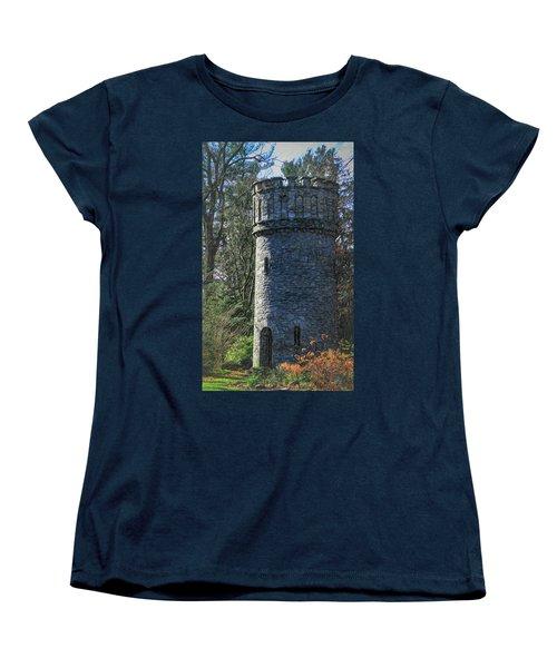 Magical Tower Women's T-Shirt (Standard Cut) by Patrice Zinck