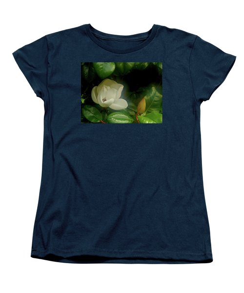 Magnolia Women's T-Shirt (Standard Cut) by Evelyn Tambour