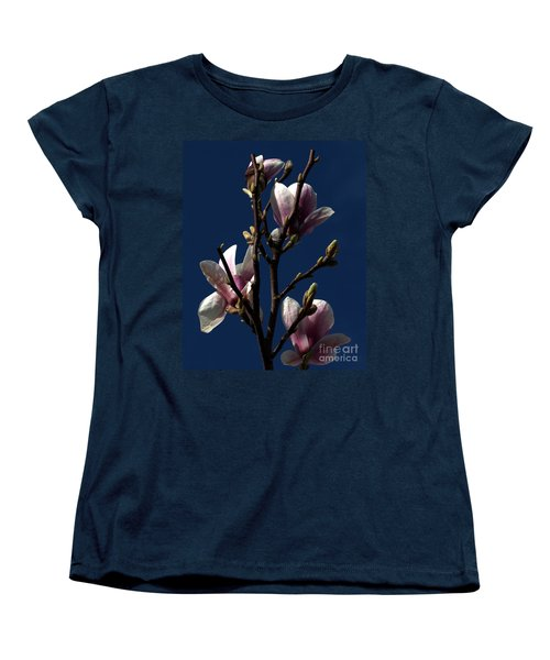 Women's T-Shirt (Standard Cut) featuring the photograph Magnolia Tree by Stephen Melia
