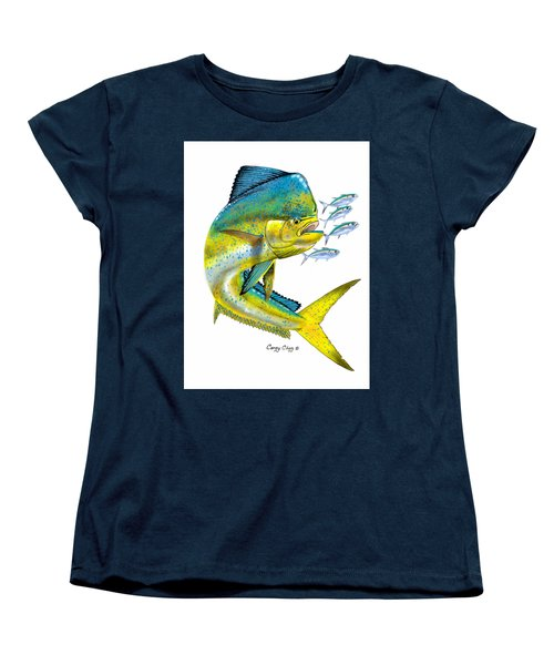 Mahi Digital Women's T-Shirt (Standard Cut) by Carey Chen