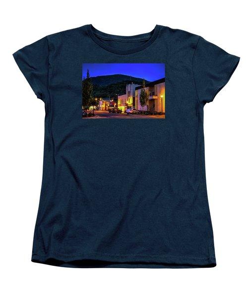 Main Street Lights Women's T-Shirt (Standard Cut) by Dale R Carlson