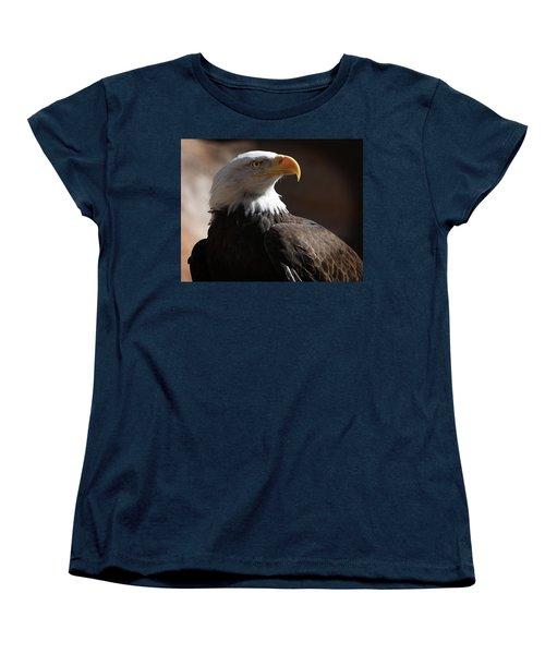Majestic Eagle Women's T-Shirt (Standard Cut) by Marie Leslie