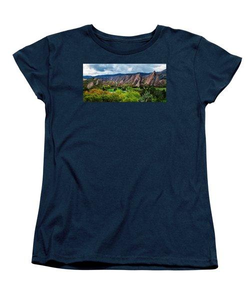 Majestic Foothills Women's T-Shirt (Standard Cut)