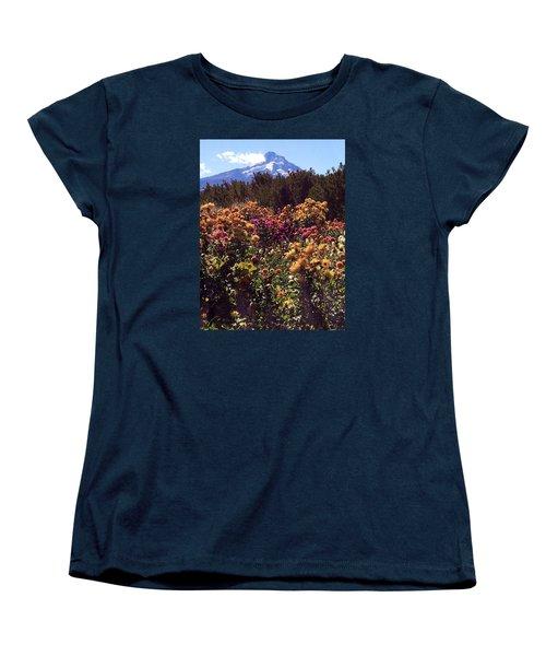 Majestic Mount Hood  Women's T-Shirt (Standard Cut)