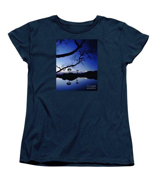 Makalu Nepal At Sunset Women's T-Shirt (Standard Cut)
