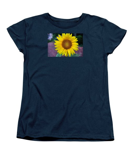 Makes  Me And You Smile Women's T-Shirt (Standard Cut) by John S