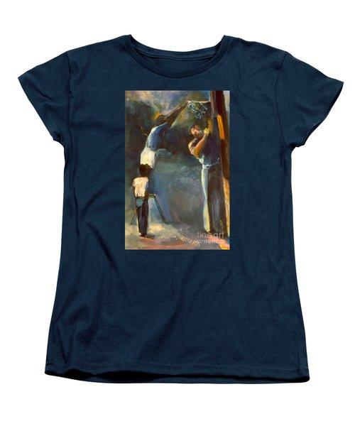 Makin Basketball Women's T-Shirt (Standard Cut) by Daun Soden-Greene