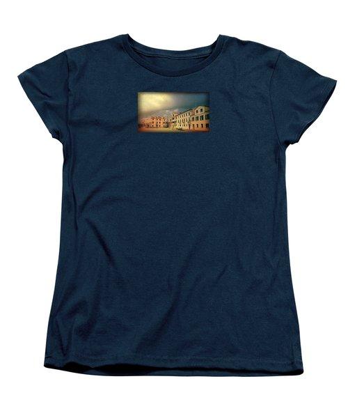 Women's T-Shirt (Standard Cut) featuring the photograph Malamacco Massive Cloud by Anne Kotan