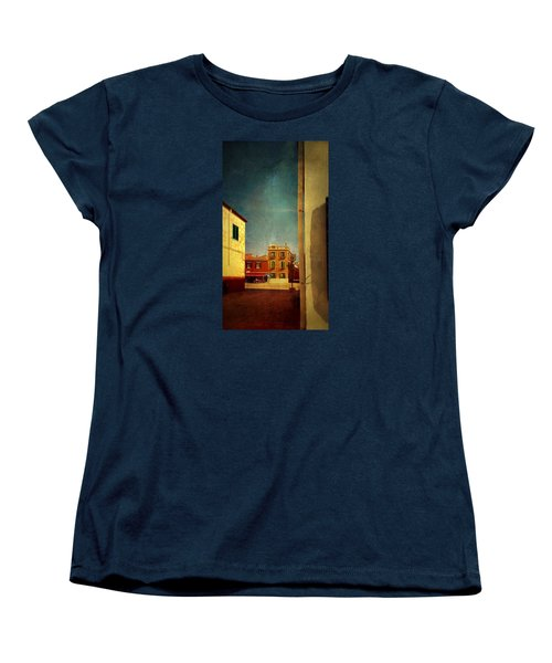 Women's T-Shirt (Standard Cut) featuring the photograph Malamocco Glimpse No1 by Anne Kotan