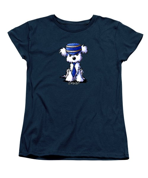 Maltese Conductor Women's T-Shirt (Standard Cut)