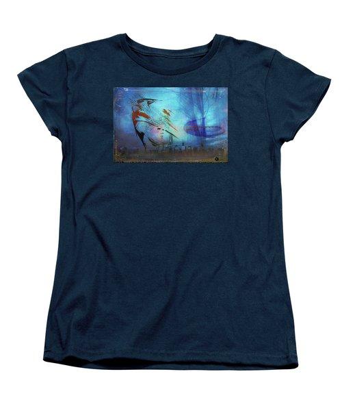 Man Is Art Women's T-Shirt (Standard Cut)