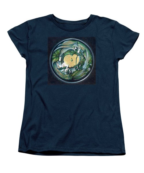 Mandala Of Regeneration Women's T-Shirt (Standard Cut) by Anna Ewa Miarczynska