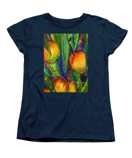 Mango Tree Women's T-Shirt (Standard Cut) by Julie Kerns Schaper - Printscapes