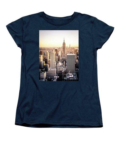 Manhattan Women's T-Shirt (Standard Cut) by Michael Weber