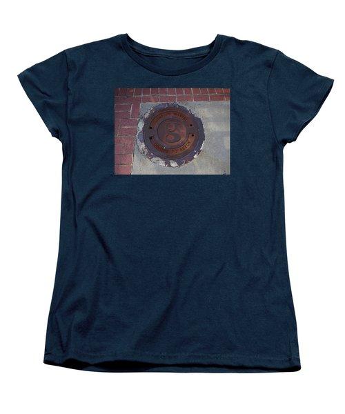Manhole II Women's T-Shirt (Standard Cut) by Flavia Westerwelle