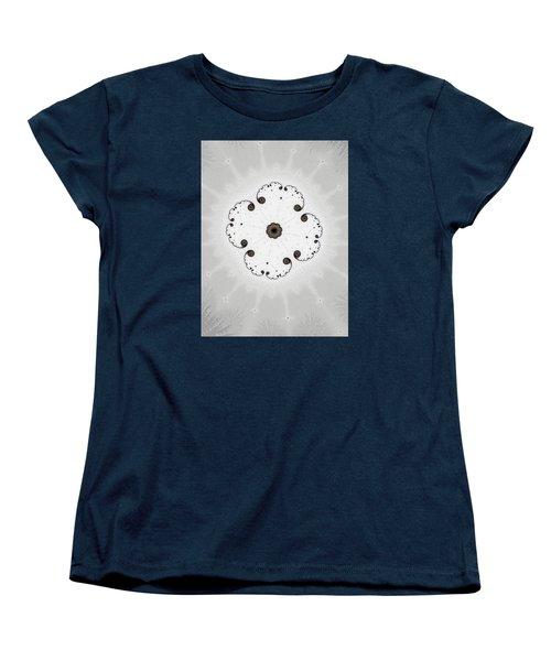 Women's T-Shirt (Standard Cut) featuring the photograph Map Of Fractal Islands by Ronda Broatch