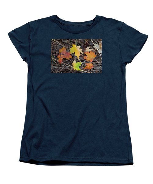 Women's T-Shirt (Standard Cut) featuring the photograph Maple Leafs by Gerald Strine