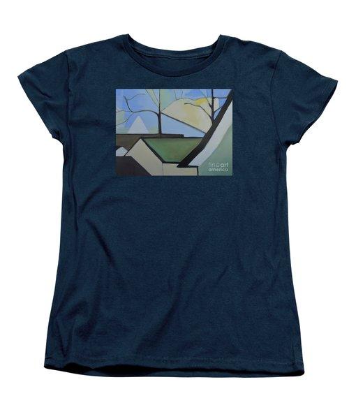 Maplewood Women's T-Shirt (Standard Cut) by Ron Erickson