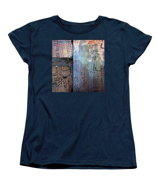 Maps #9 Women's T-Shirt (Standard Cut) by Joan Ladendorf